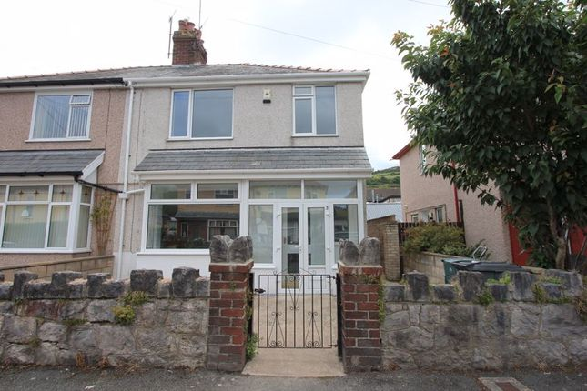 Thumbnail Semi-detached house for sale in Garth Road South, Mochdre, Colwyn Bay