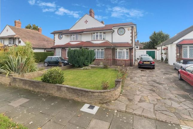 Thumbnail Semi-detached house for sale in Willersley Avenue, Sidcup