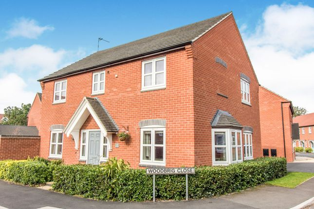 Thumbnail Detached house for sale in Leaders Way, Lutterworth