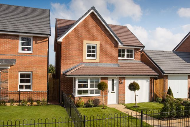 "Thumbnail Detached house for sale in ""Derwent"" at Ponds Court Business, Genesis Way, Consett"