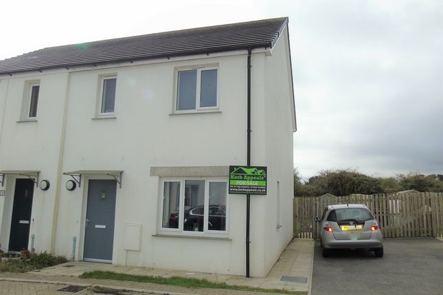 Thumbnail Semi-detached house for sale in Teyla Tor Road, Carbis Bay, St Ives, Cornwall