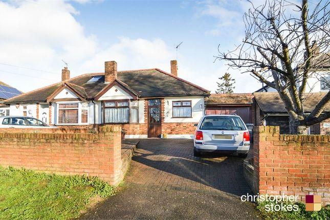Thumbnail Semi-detached bungalow for sale in Hammondstreet Road, Cheshunt, Cheshunt, Hertfordshire