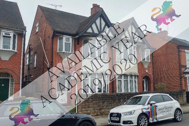 Thumbnail Semi-detached house to rent in Marlborough Road, Beeston, Nottingham