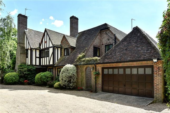 Thumbnail Detached house for sale in Heathway, Camberley, Surrey
