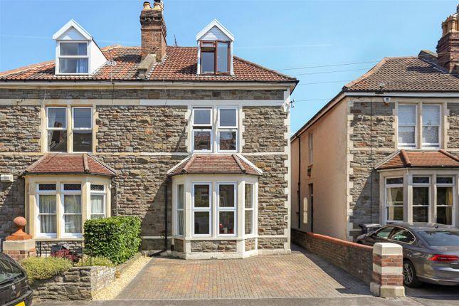 Thumbnail Semi-detached house for sale in Mervyn Road, Bishopston, Bristol