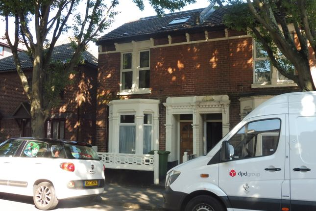 Thumbnail End terrace house to rent in Frensham Road, Southsea, Hants
