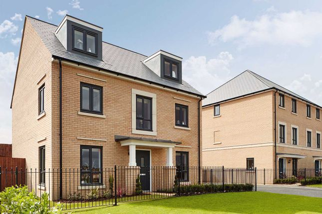 "Thumbnail Detached house for sale in ""The Fordham"" at Leverett Way, Saffron Walden"