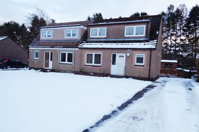 Thumbnail Semi-detached house to rent in Curlers' Crescent, Milnathort, Kinross