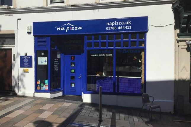 Thumbnail Restaurant/cafe for sale in Friars Street, Stirling