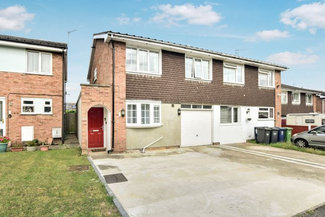 Thumbnail Semi-detached house for sale in Rodney Road, Hartford, Huntingdon