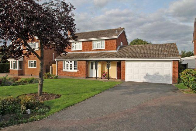 Thumbnail Detached house to rent in Raglan Drive, Gedling