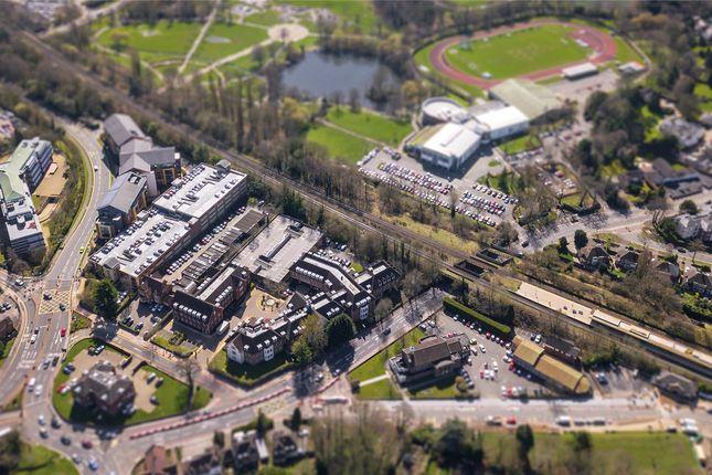 Aerial of Princes Gate, Solihull, West Midlands B91