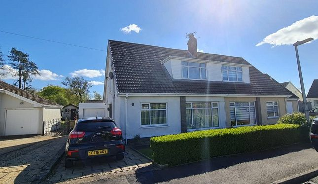 Thumbnail Semi-detached house for sale in Christopher Rise, Pontlliw, Swansea, City And County Of Swansea.