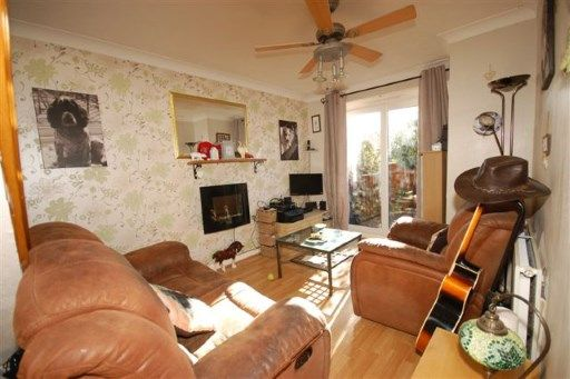 Thumbnail End terrace house for sale in Linnet Green, Ridgewood, Uckfield, East Sussex