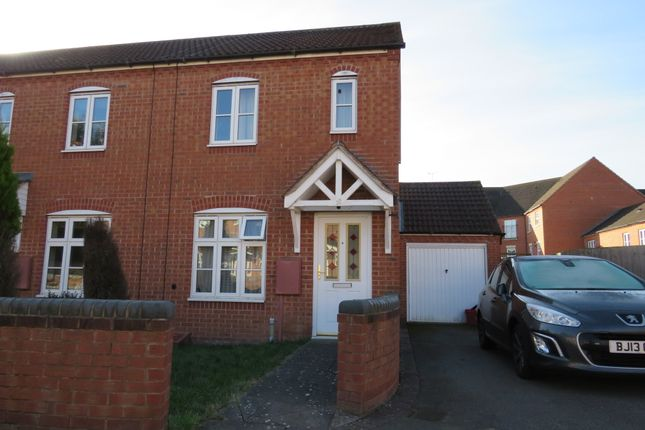 Thumbnail End terrace house for sale in Lee Meadowe, Chase Meadow Square, Warwick