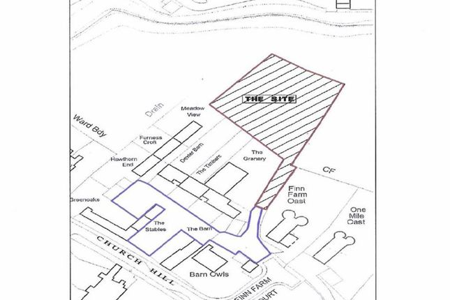 Thumbnail Land for sale in Finn Farm Court, Ashford, Kent