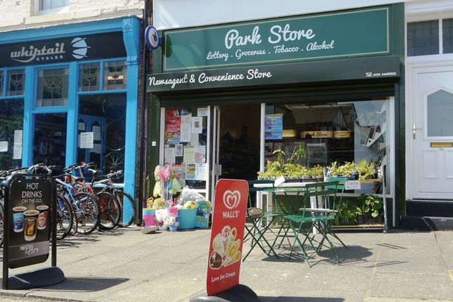 Thumbnail Retail premises for sale in Park Store, 2 Livingstone View, Tynemouth