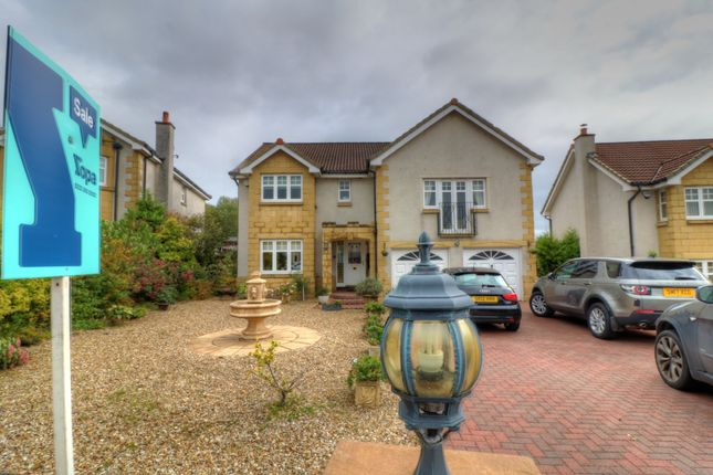 Thumbnail Detached house for sale in Birkdale Wood, Cumbernauld, Glasgow