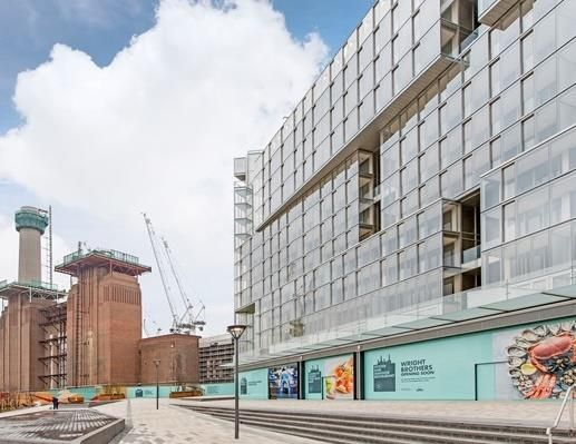 Thumbnail Detached house for sale in Switch House Building, Battersea Power Station, London
