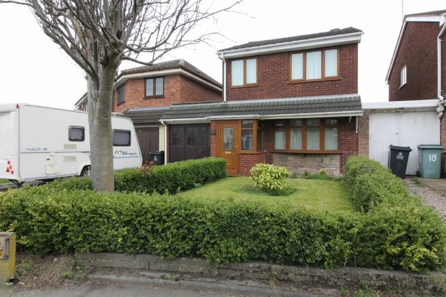 Thumbnail Detached house for sale in Ingledew Close, Walsall