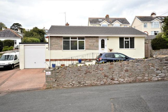 Thumbnail Detached bungalow for sale in Paradise Road, Teignmouth, Devon