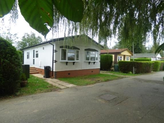 Thumbnail Mobile/park home for sale in Wallow Lane, Great Bricett, Ipswich
