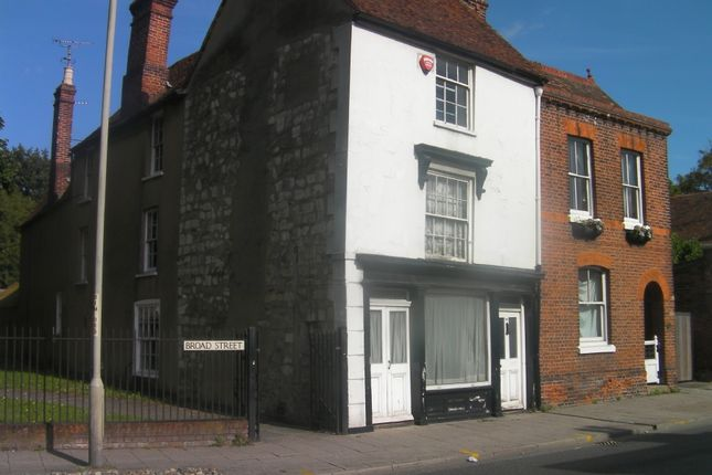 Thumbnail Town house to rent in Broad Street, Canterbury
