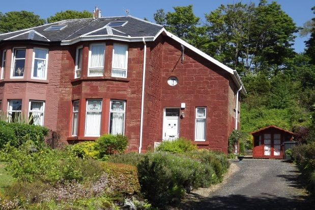 Thumbnail Semi-detached house to rent in Greenock Road, Wemyss Bay