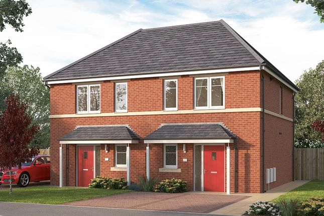 "Thumbnail Terraced house for sale in ""The Coleford"" at Manston Lane, Crossgates"