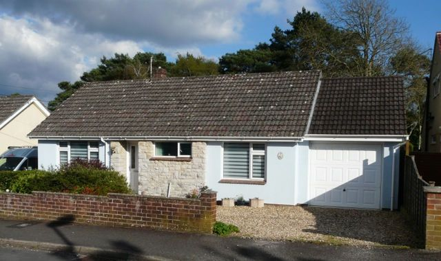 Thumbnail Detached bungalow for sale in Miles Avenue, Sandford, Wareham