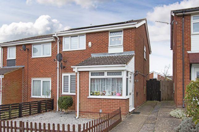 3 bed semi-detached house for sale in Blaydon Walk, Wellingborough NN8