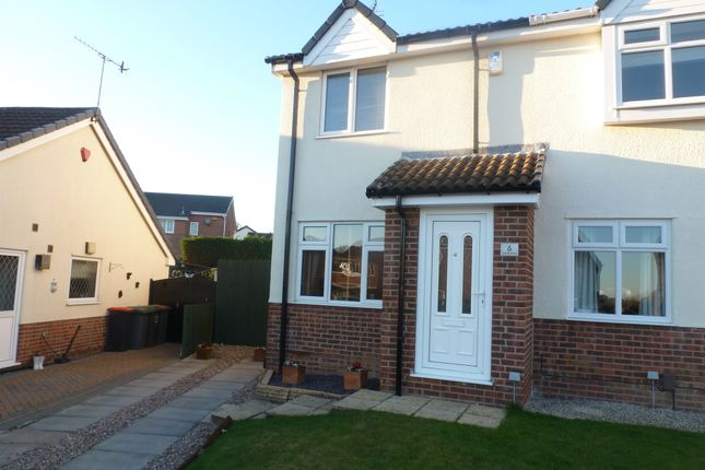 2 bed semi detached house for sale in turner drive giltbrook