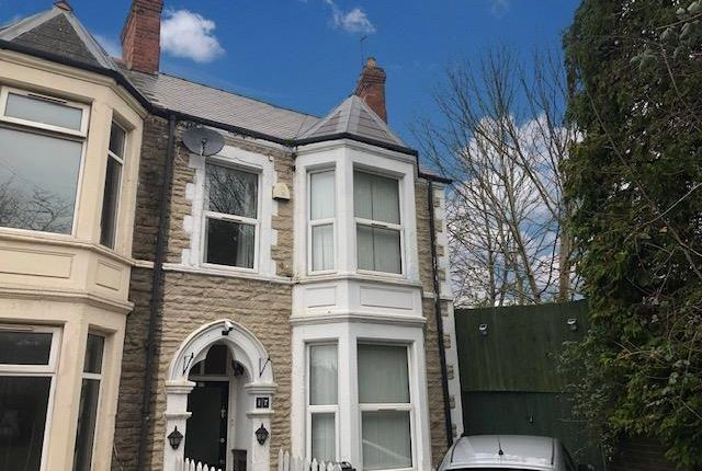 Thumbnail Property to rent in Colum Place, Cathays, Cardiff