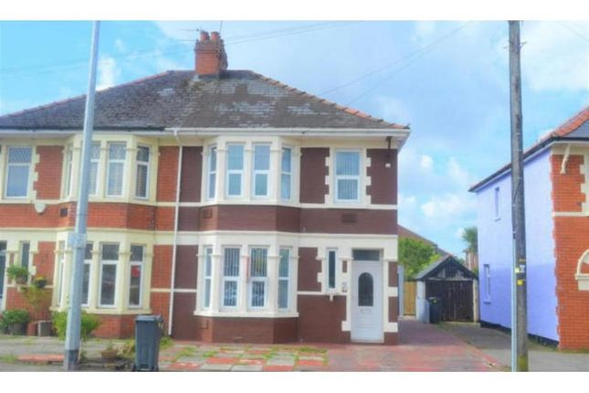 Semi-detached house for sale in Merthyr Road, Whitchurch, Cardiff