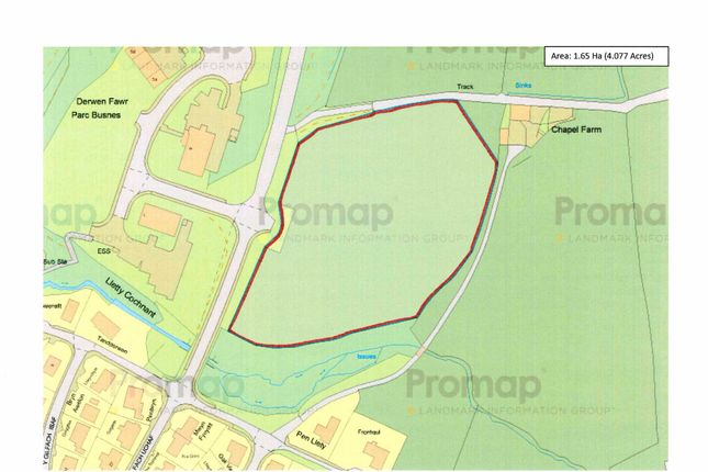 Thumbnail Land for sale in Opp Parc Derwen Fawr, Business Park, Llanidloes, Powys