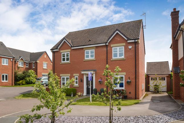 Thumbnail Detached house for sale in Perkins Close, Barrow Upon Soar, Loughborough