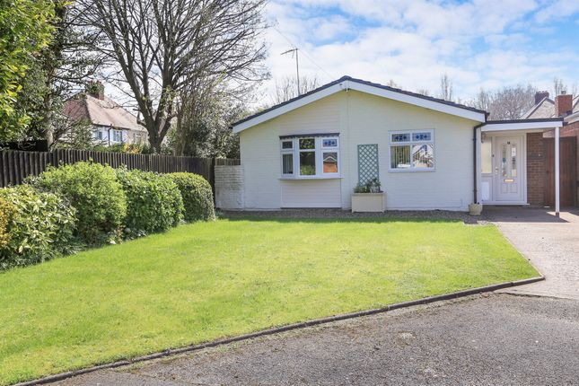 Thumbnail Detached bungalow for sale in Wheaton Close, Oxley, Wolverhampton