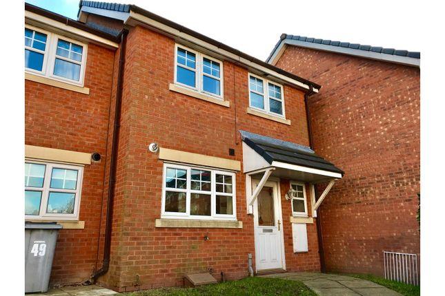 Thumbnail Terraced house to rent in Hampton Chase, Prenton