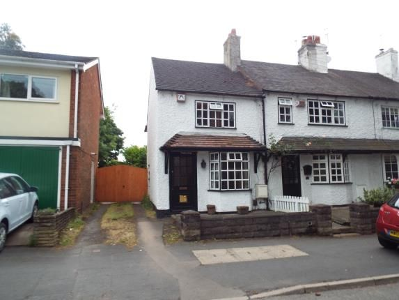 Thumbnail End terrace house for sale in Codsall Road, Tettenhall, Wolverhampton, West Midlands