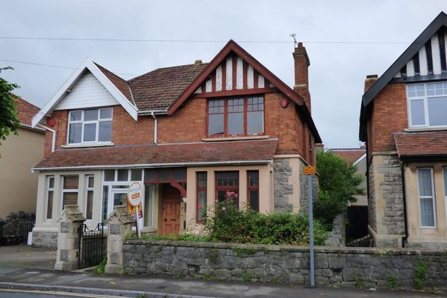 Thumbnail Semi-detached house for sale in Devonshire Road, Weston-Super-Mare