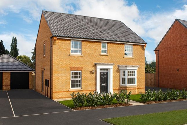 "Thumbnail Detached house for sale in ""Bradgate"" at Bridlington Road, Stamford Bridge, York"