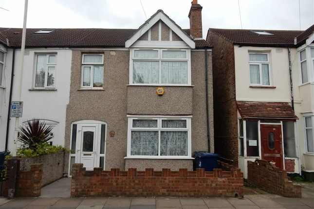 Thumbnail End terrace house for sale in Lancaster Road, Southall, Middlesex