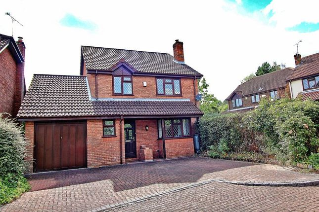 Thumbnail Detached house for sale in Radcliffe Close, Frimley, Camberley