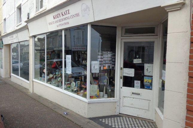 Thumbnail Retail premises to let in Marine Buildings, Old Pier Street, Walton On The Naze