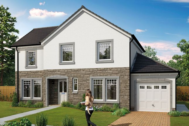 Thumbnail Detached house for sale in The Grange, Blackiemuir Avenue, Laurencekirk, Aberdeenshire