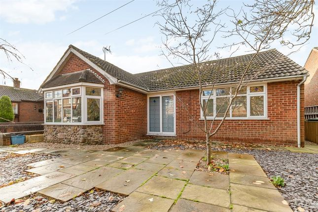 Thumbnail Detached bungalow for sale in West Moor Lane, Raskelf, York