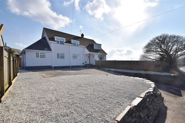 Thumbnail Detached house for sale in St. Teath, Bodmin