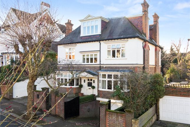 Thumbnail Detached house for sale in Burghley Road, Wimbledon Village