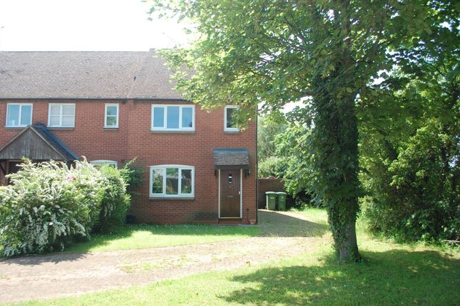 Thumbnail Terraced house for sale in Holland Meadow, Welford On Avon, Stratford-Upon-Avon