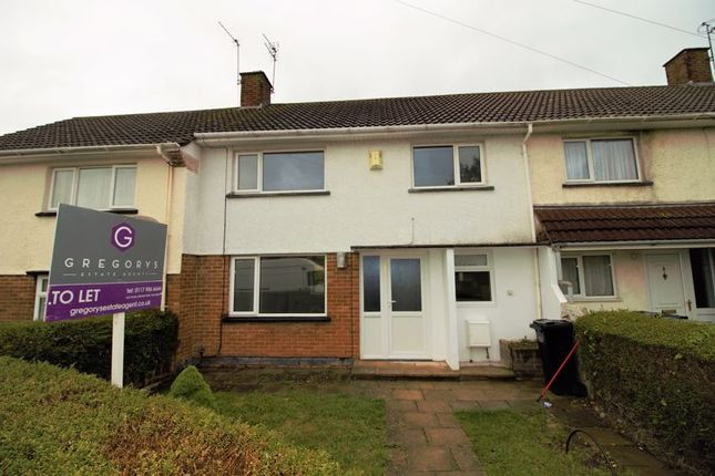 Thumbnail Terraced house to rent in 3 Bedroom House, Lincoln Close, Bristol